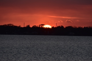Sunset over Eau Gallie