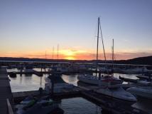 Sunset at Half Moon Bay
