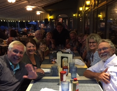 6.7 Shady Harbor dinner at the Boathouse Grill